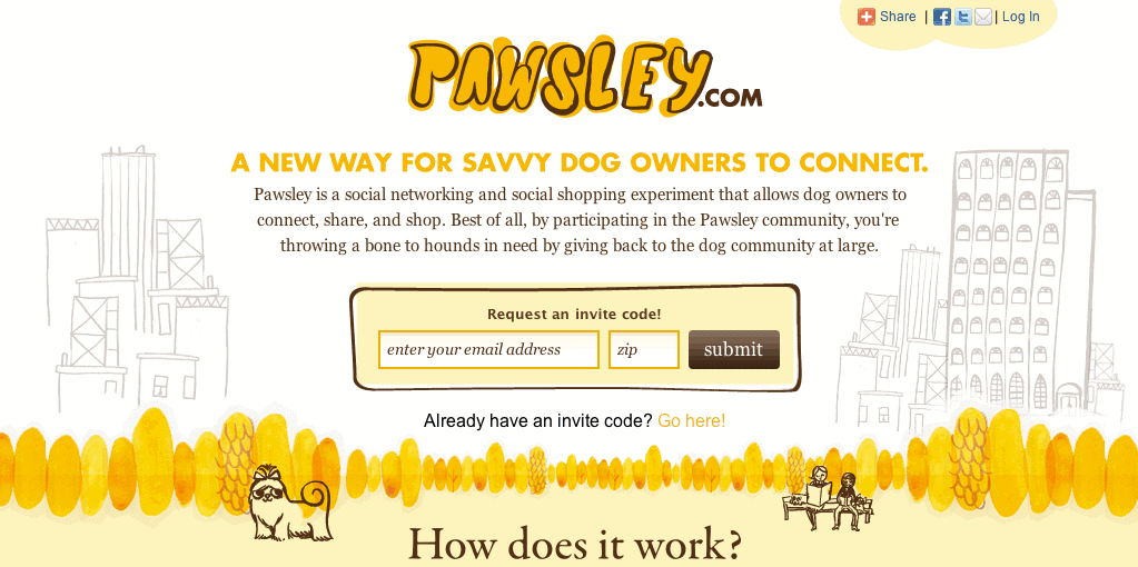 Pawsley Dog Application