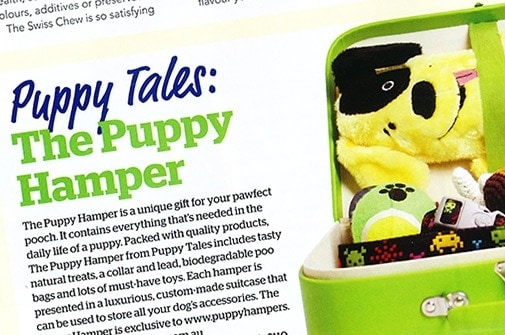Puppy Hamper feature