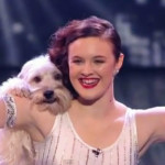 Pudsey Dancing Dog and Ashleigh