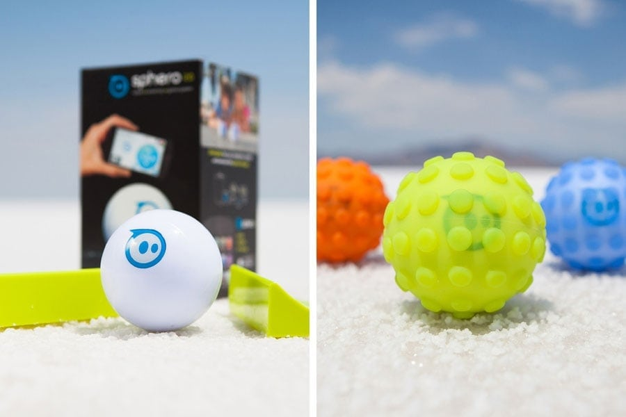 Sphero 2.0 robotic ball and Nubby accessory