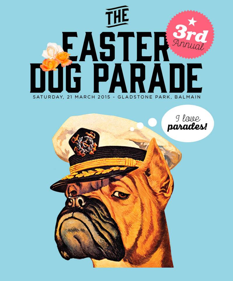 Sydney The Easter Dog Parade 2015