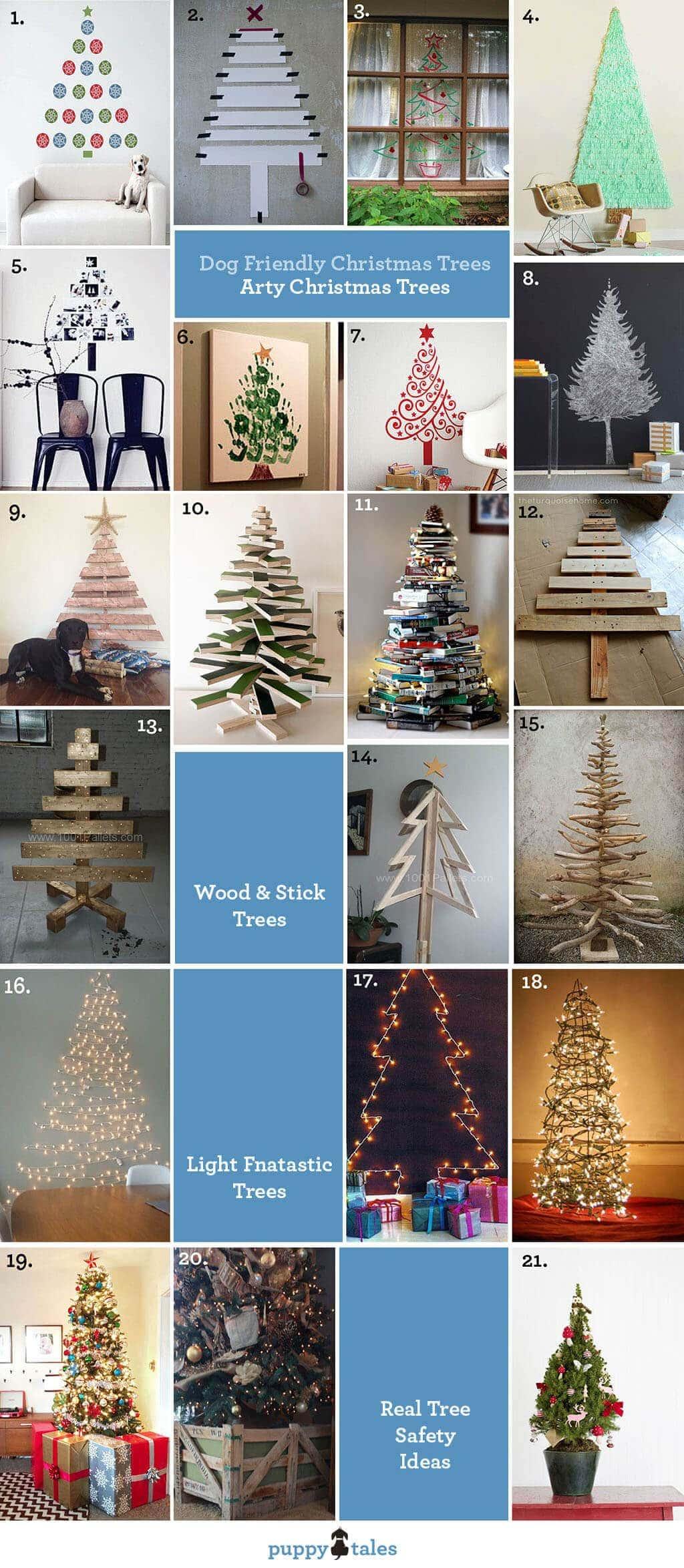 Dog Friendly Christmas Tree Alternatives