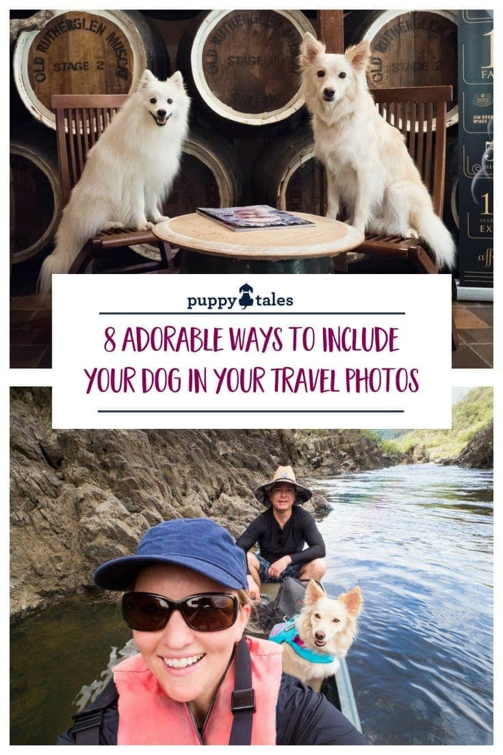 Ideas for including your dogs in travel photos
